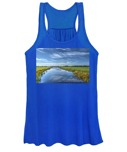 Royal Canal And Grasslands Women's Tank Top