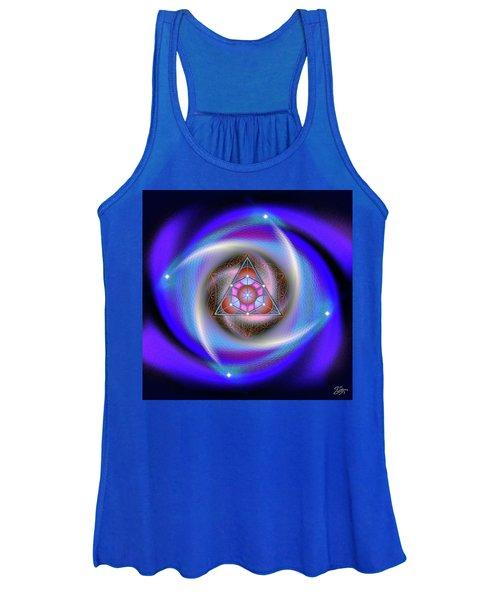 Sacred Geometry 687 Women's Tank Top