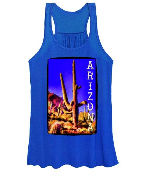 Saguaros Everywhere Women's Tank Top