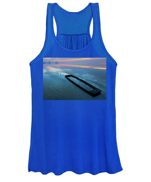 Sailing In The Sky Women's Tank Top