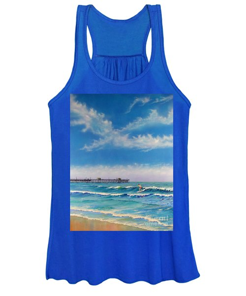 San Clemente Surf Women's Tank Top