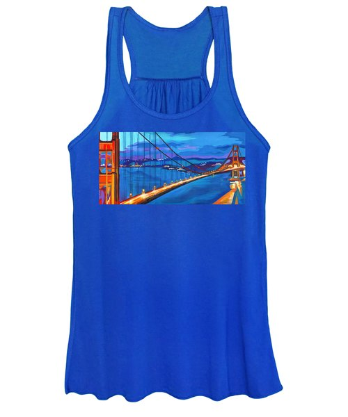 San Francisco Bay Blues  Women's Tank Top