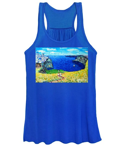 Santorini Honeymoon Women's Tank Top