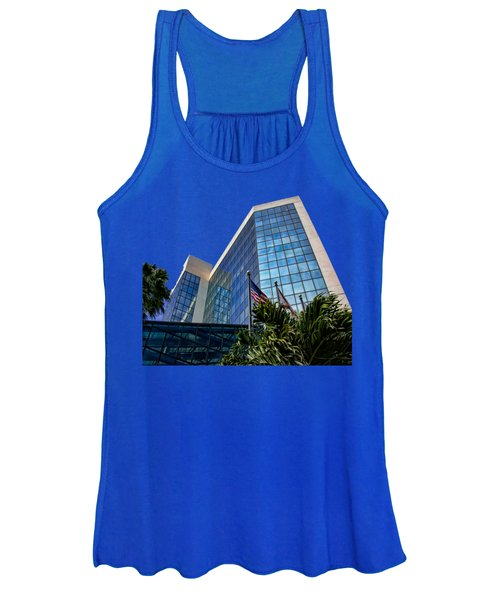 Sarasota Architecture Glass Transparency Women's Tank Top