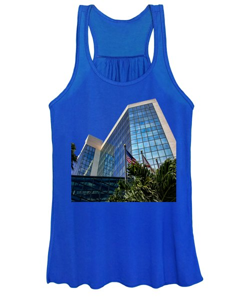 Sarasota Architecture Glass Transparency Women's Tank Top