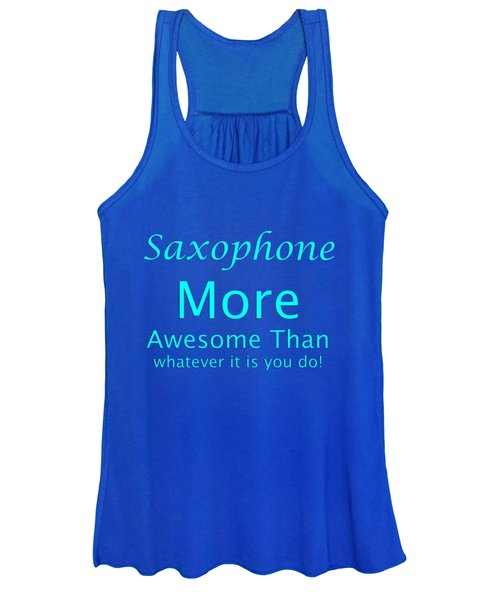 Saxophone More Awesome Than You 5554.02 Women's Tank Top
