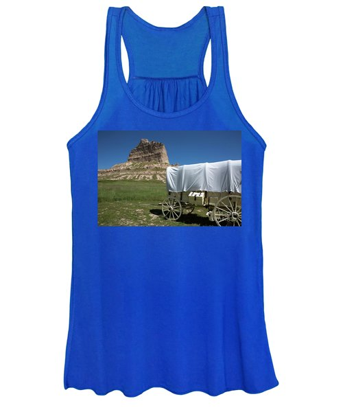 Scotts Bluff National Monument Nebraska Women's Tank Top