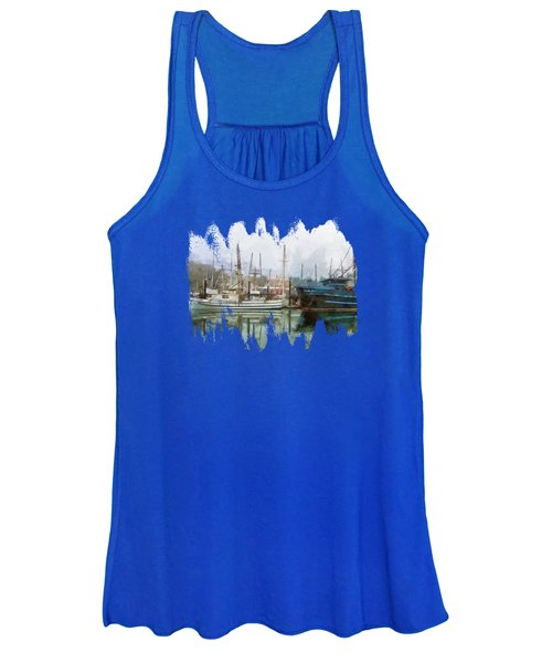 Sea Breeze And Lady Law Women's Tank Top