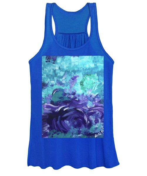 Sea Purple Women's Tank Top