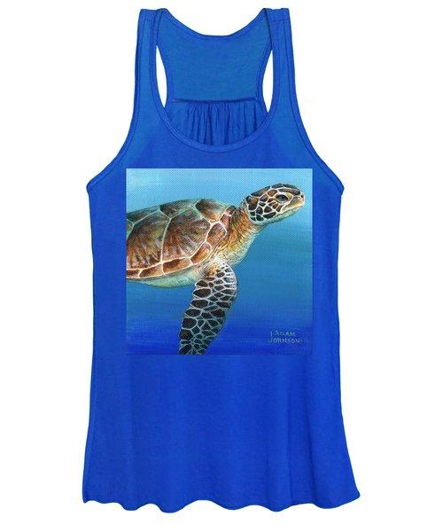 Sea Turtle 2 Of 3 Women's Tank Top