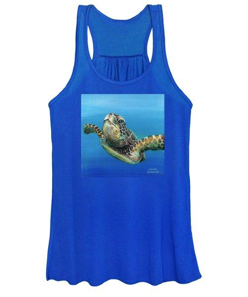 Sea Turtle 3 Of 3 Women's Tank Top