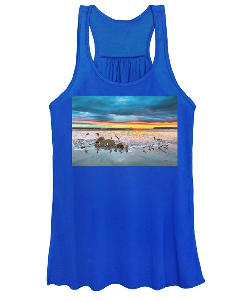 Seagull Sunset Women's Tank Top