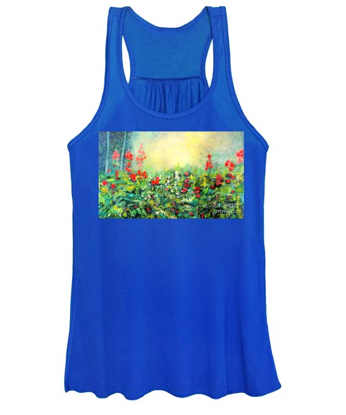 Secret Garden 2 - 150x90 Cm Women's Tank Top