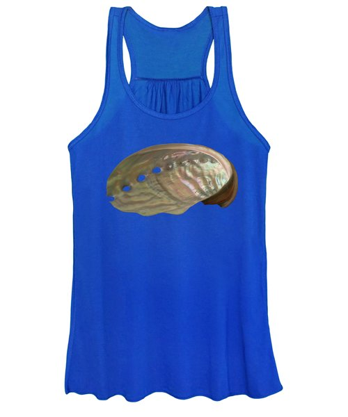 Shell Transparency Women's Tank Top