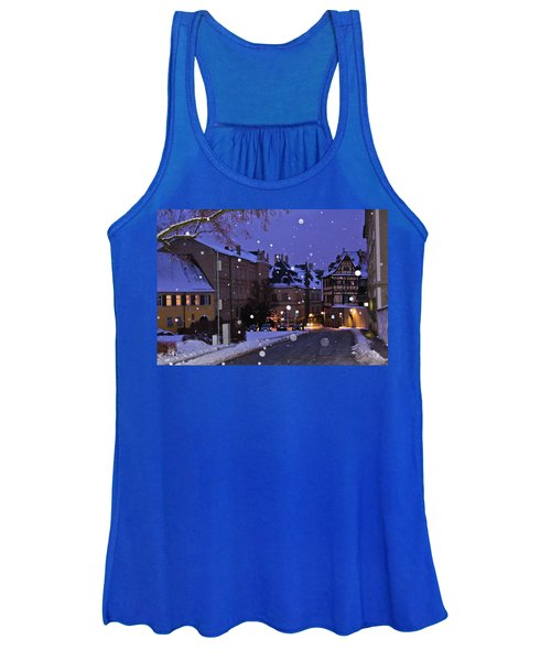 Silent Night In Bamberg, Germany #2 Women's Tank Top