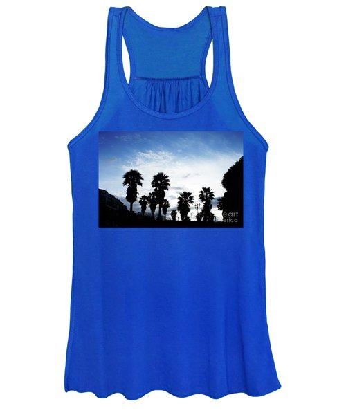 Silhouette In Tropea Women's Tank Top
