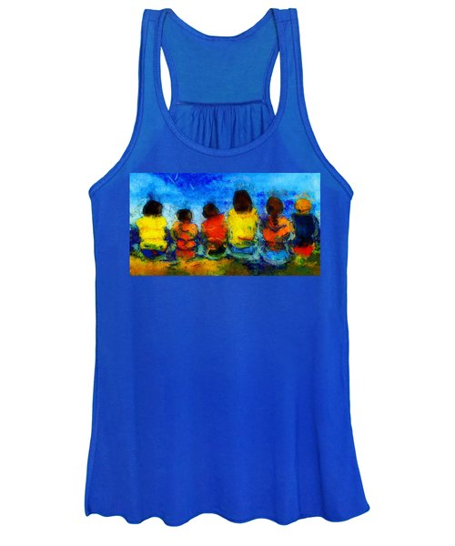 Six On The Shore  Women's Tank Top