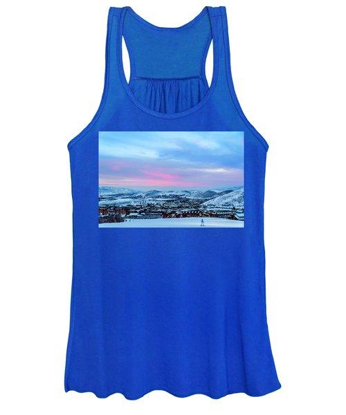 Ski Town Women's Tank Top