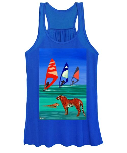 Tigers Sons Of The Sun Women's Tank Top