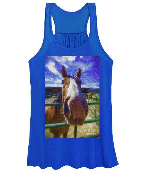 Stable Blues  Women's Tank Top