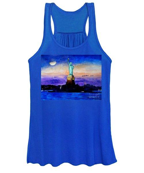 Statue Of Liberty New York Women's Tank Top