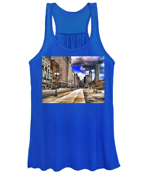 Streets Of Chicago Women's Tank Top