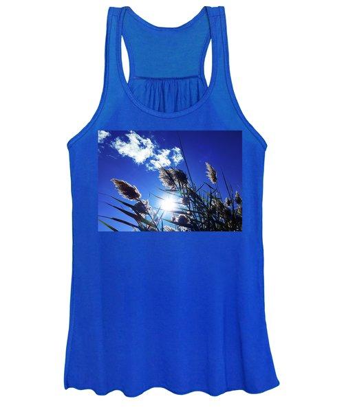 Sunburst Reeds Women's Tank Top