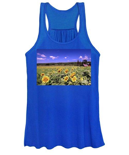 Sunflower Farm Women's Tank Top