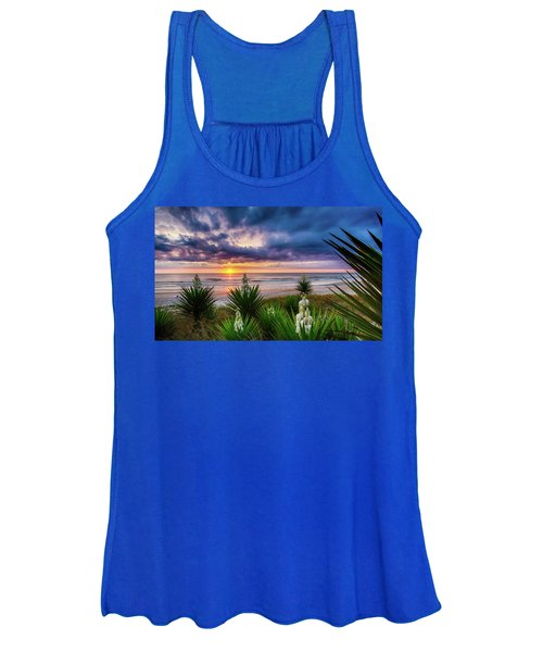 Sunrise Blooms Women's Tank Top