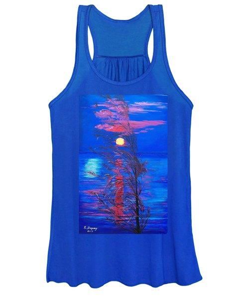 Sunrise Silhouette Women's Tank Top