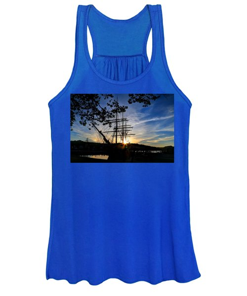 Sunset On The Whalers Women's Tank Top