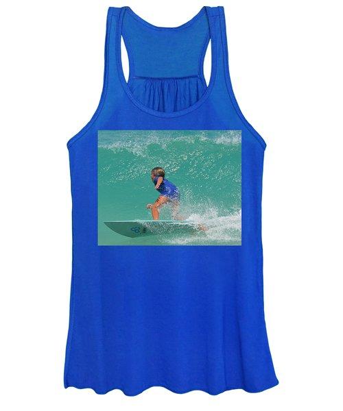 Surfer Boy Women's Tank Top