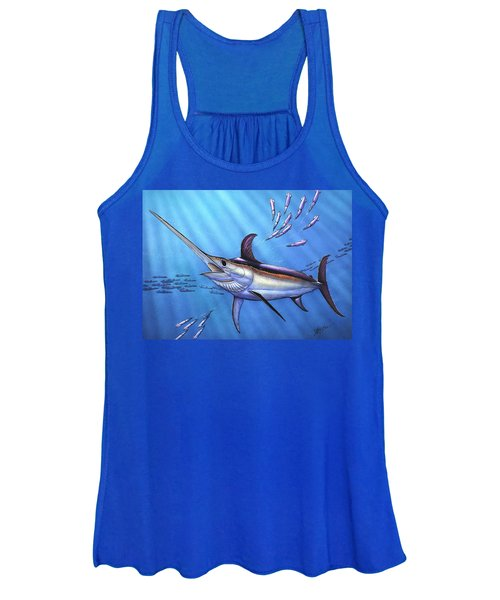 Swordfish In Freedom Women's Tank Top