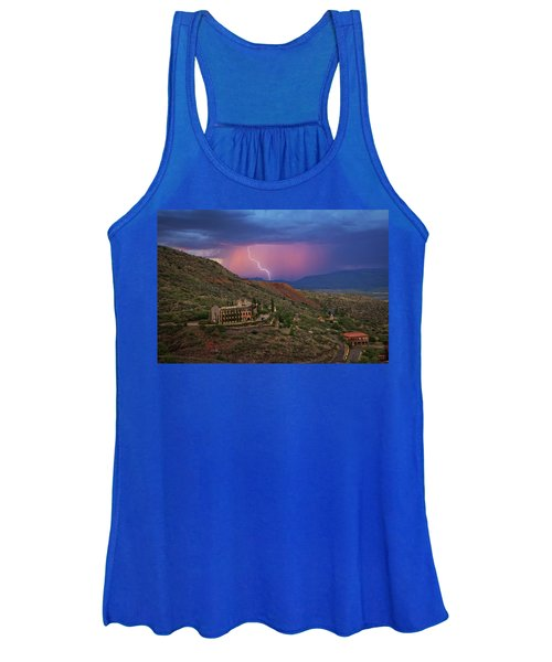 Sycamore Canyon Lightning With Little Daisy Women's Tank Top