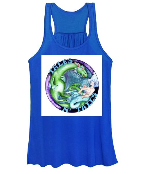 Real Fake News Foto, Tales N Tails 1 Women's Tank Top