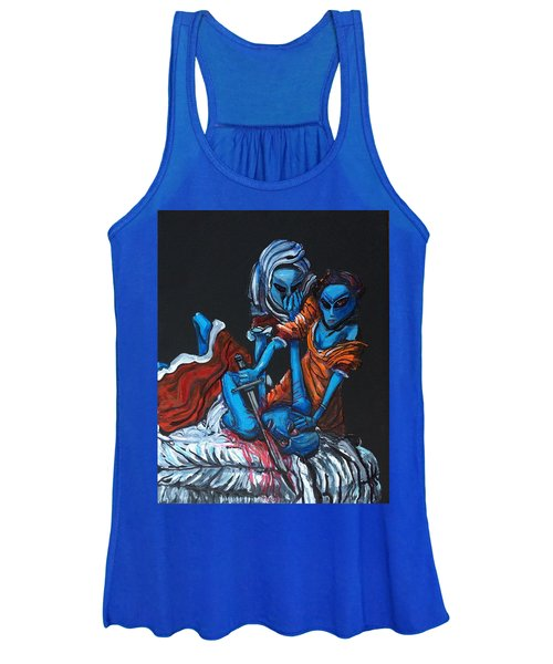 The Alien Judith Beheading The Alien Holofernes Women's Tank Top