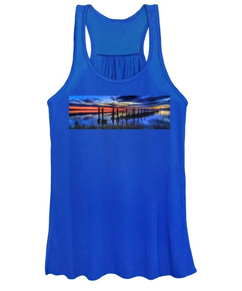 The Blue Hour Comes To St. Marks #2 Women's Tank Top