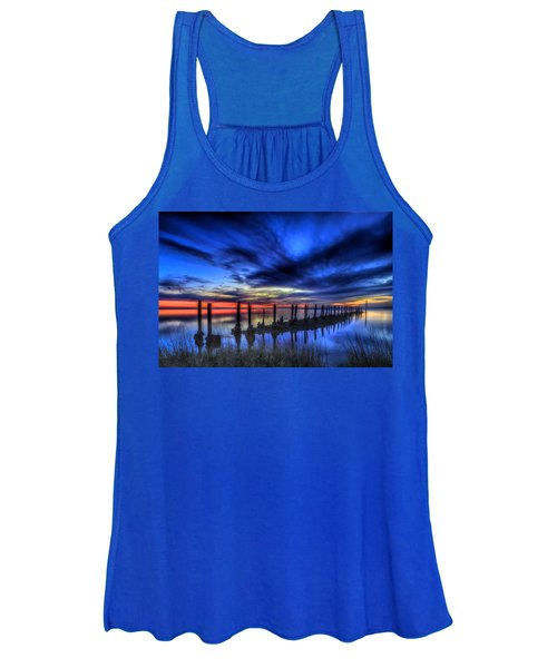 The Blue Hour Comes To St. Marks #1 Women's Tank Top