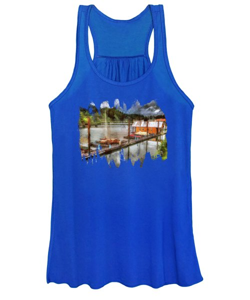 The Charming Port Of Toledo Women's Tank Top