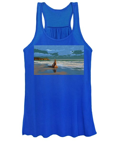 The Courtship Of Sand Women's Tank Top