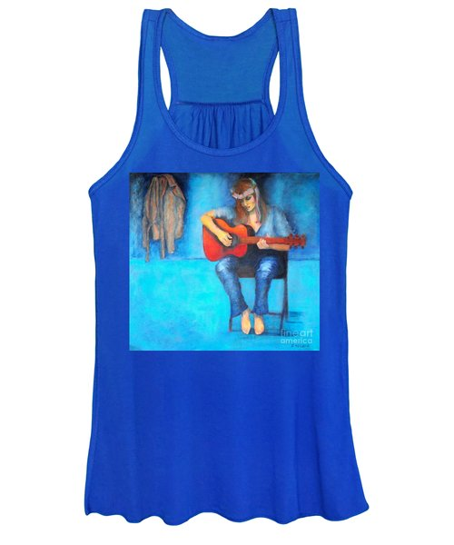 Music In The Alhambra Women's Tank Top