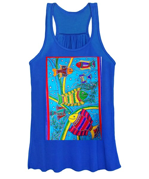 The Happy Fishes Women's Tank Top