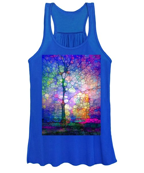 The Imagination Of Trees Women's Tank Top