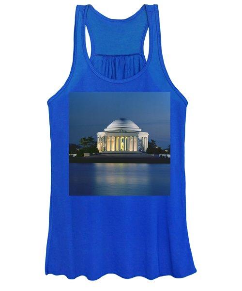 The Jefferson Memorial Women's Tank Top