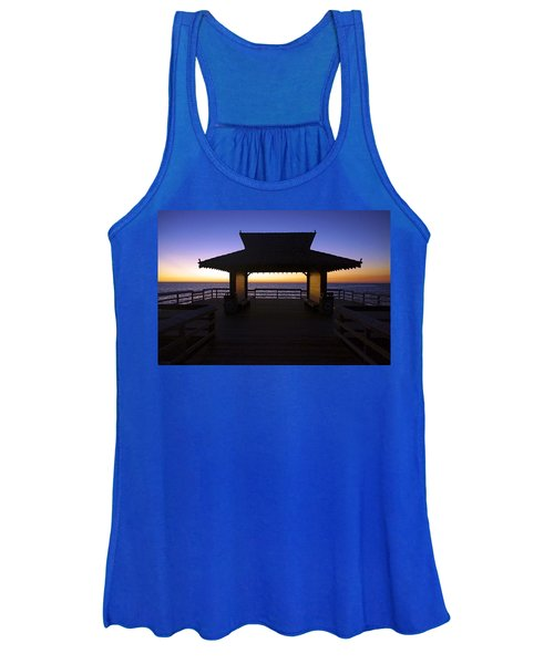 The Naples Pier At Twilight - 02 Women's Tank Top