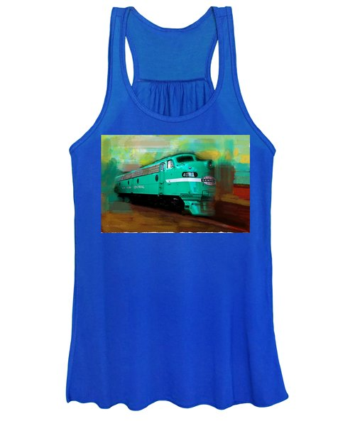 Flash II  The Ny Central 4083  Train  Women's Tank Top