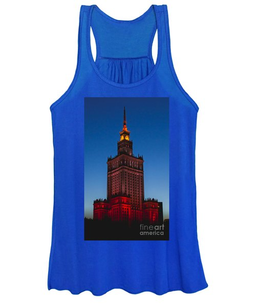 The Palace Of Culture And Science  Women's Tank Top