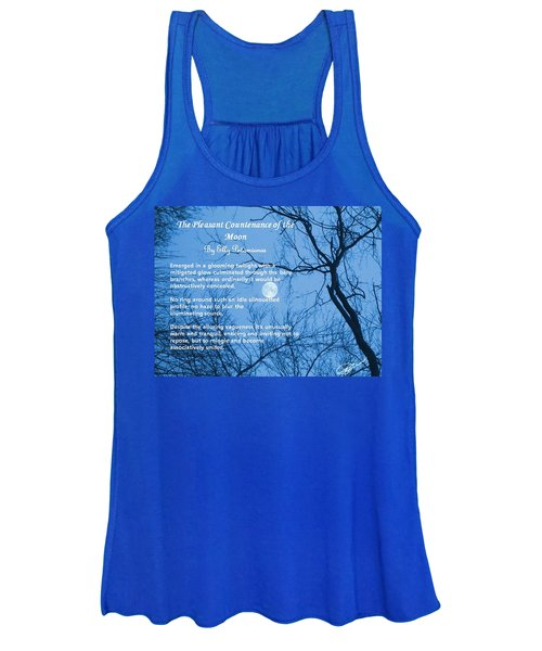 The Pleasant Countenance Of The Moon Women's Tank Top