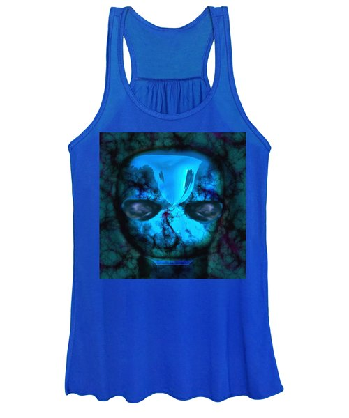 The Pukel Stone Face Women's Tank Top