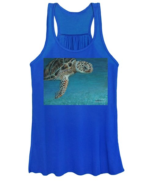 The Giant Sea Turtle Women's Tank Top